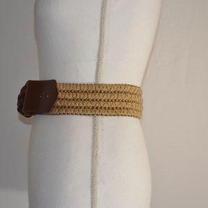 RN 77388 Accessories - Boho Brown Natural Colors Women's Fashion Belt L